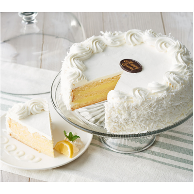 Easter Lemon Coconut Layercake Extra Large