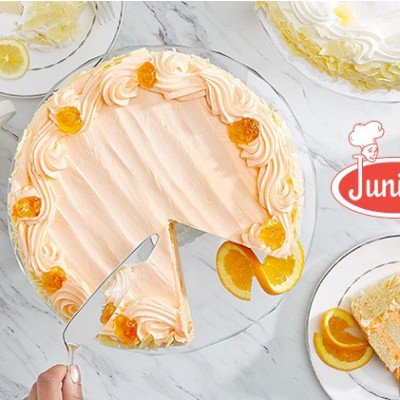 White Chocolate Orange Dream Layer Cake Extra Large