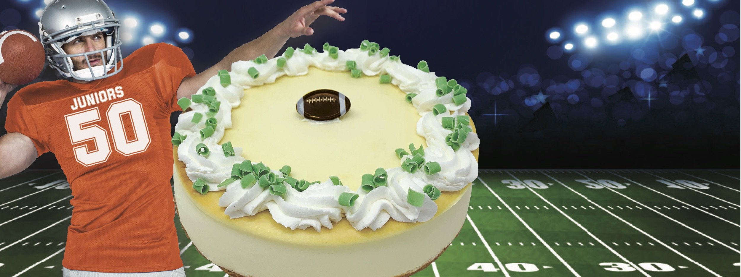 Cheesecakes for the Big Game